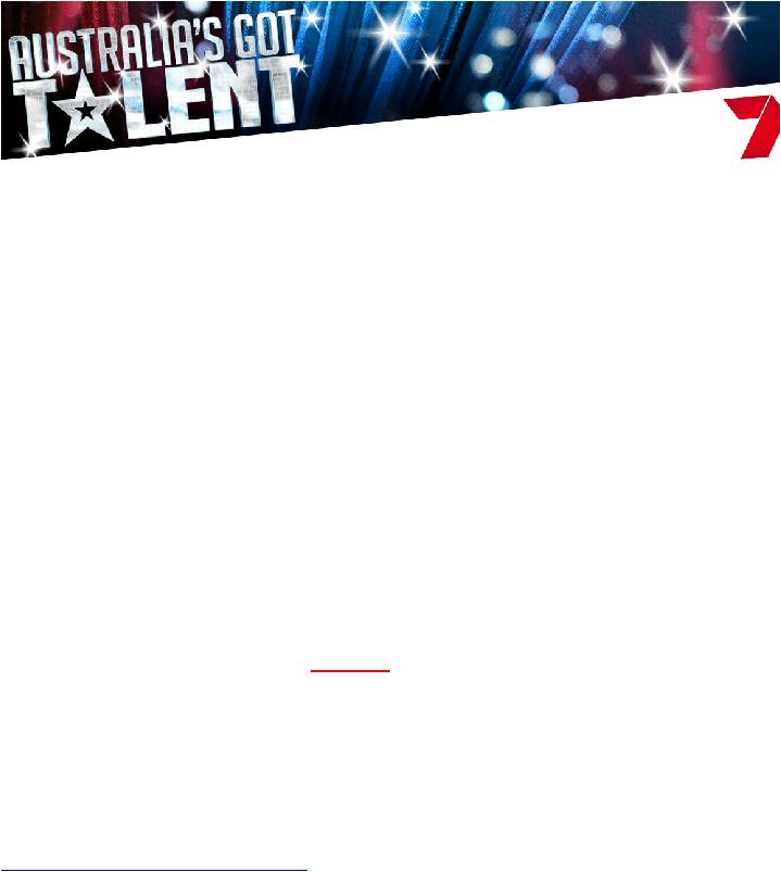 Australia's Got Talent - Coffs Harbour